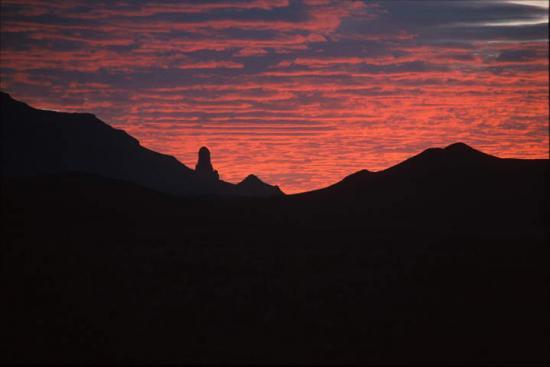 coucher soleil assekrem